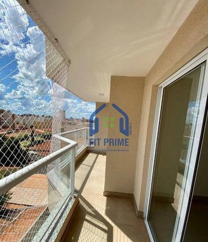 Apartamento Com 2 Dormitórios À Venda, 75 M² Por R$ 350.000,00 - Parque Estoril - São José Do Rio Preto/sp - Ap1308