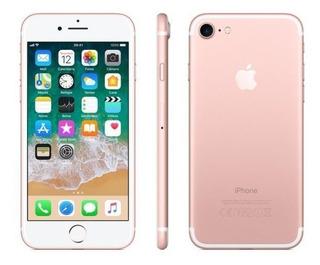 iPhone 7 Ouro Rosa Com Tela De 4,7, 4g, 32 Gb Lacrado
