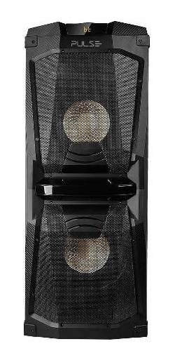 Caixa De Som Party Speaker Torre 200w Rms Bluetooth/ Usb/ Fm