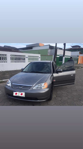 Imagem 1 de 15 de Honda Civic 2002 1.7 Lx 4p