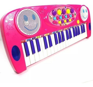 Organeta Piano Teclado Musical Reproductor Juguete 3702a