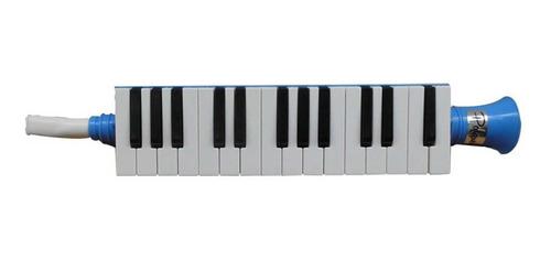 Melodica 27 Notas A Piano Parquer Mel27 Color Azul - La Roca