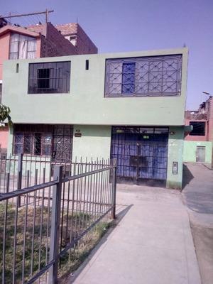 Vendo Casa De Dos Pisos En San Martin De Porres.