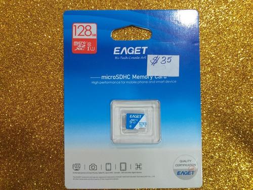 Imagen 1 de 1 de Tarjeta De Memoria Micro Sd 128gb. Eaget