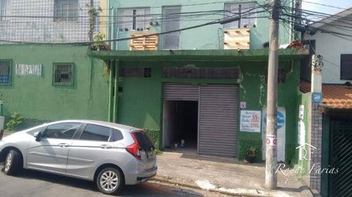 Salão Para Alugar, 95 M² Por R$ 2.000/mês - Jaguaré - São Paulo/sp - Sl0166