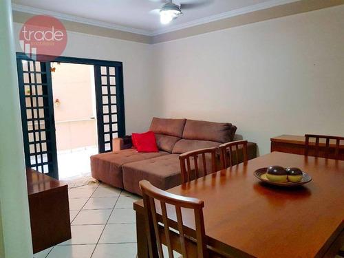 Apartamento Com 3 Dormitórios À Venda, 76 M² Por R$ 300.000,00 - Vila Tibério - Ribeirão Preto/sp - Ap6832