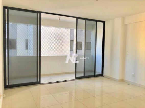 Apartamento Em Petrópolis Com 3 Suítes À Venda Por R$ 420.000 - Natal/rn - Ap0590