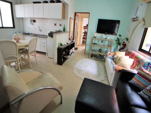 Apartamento Com 2 Dormitórios À Venda, 65 M² Por R$ 300.000,00 - Praia Das Astúrias - Guarujá/sp - Ap3971 - 34710842