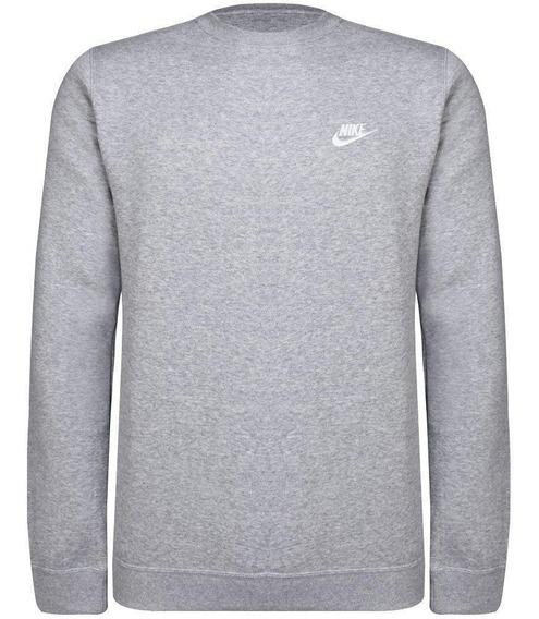Moletom Nike Crw Flc Club Masculino 804340-063