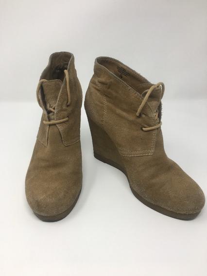 Zapatos Mujer Plataforma Nine West Piel 24 Mx. Envío Gratis