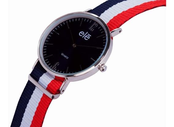 Reloj Relojes Moda Hombre Mujer Casual, Ele 5943 A