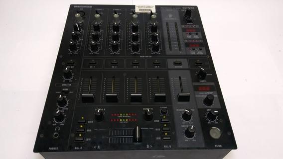 Mixer Behringer Djx 750 C/ Efeitos, 5 Canais, Mesa Cod461