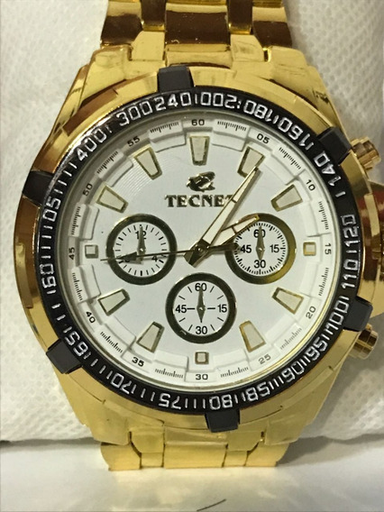 Relógio Tecnet Masculino White Resistente Água 62628ch