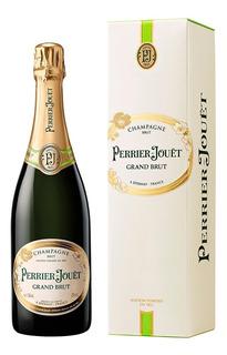 Perrier-jouët Grand Brut Champagne Francés X 750 Ml Estuche
