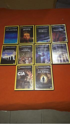 Colección Dvds National Geographic X 10 Unidades