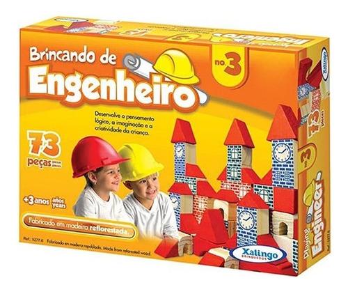 Imagem 1 de 1 de Brincando De Engenheiro No.3 Xalingo Brinquedos