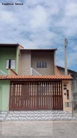 Casa Sobreposta Para Locação Em Itanhaém, Suarão, 2 Dormitórios, 1 Banheiro, 1 Vaga - Loc15