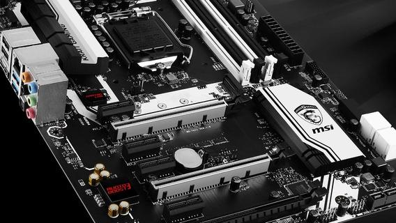 Placa Mãe Msi Z170 Krait Gaming + Intel G4560 + Gtx 1060 3gb