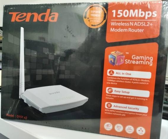 Oferta!! Tenda Módem Router 150mbps (mod: D151 V2)
