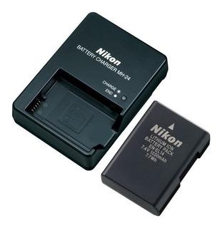Cargador De Red Pared MH-24 para Nikon D3100 D3200 D5100 D5200 D5300 D5500
