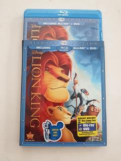 Blu Ray The Lion King Diamond Edition + Dvd Rey Leon 2 Disc