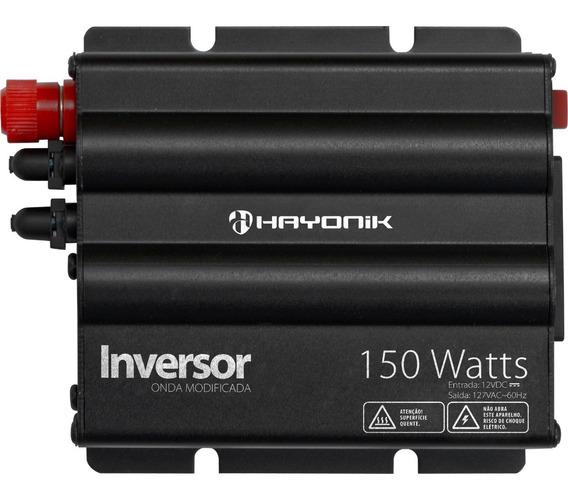 Inversor De Energia 12v P/ 127v Hayonik 150w Onda Modificada