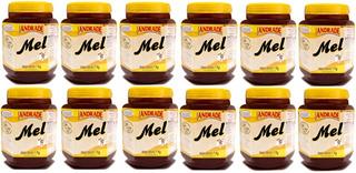 Kit Com 12 Potes Mel Puro 1kg - Natunectar 100% Puro