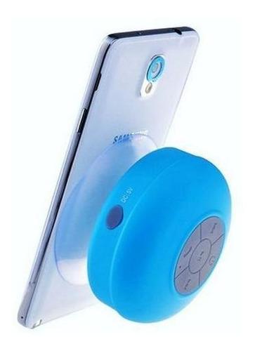 Imagem 1 de 7 de Mini-caixa De Som Resistente A Agua - Bts-06 - Cor Azul