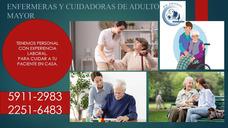 Auxiliar De Enfermeras Y Cuidadoras De Adulto Mayor