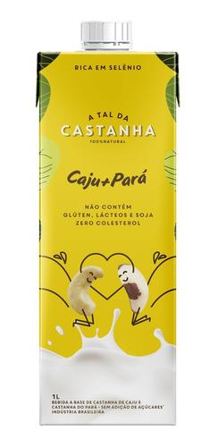 Imagem 1 de 3 de Bebida De Castanha A Tal Da Castanha Caju + Pará 1l