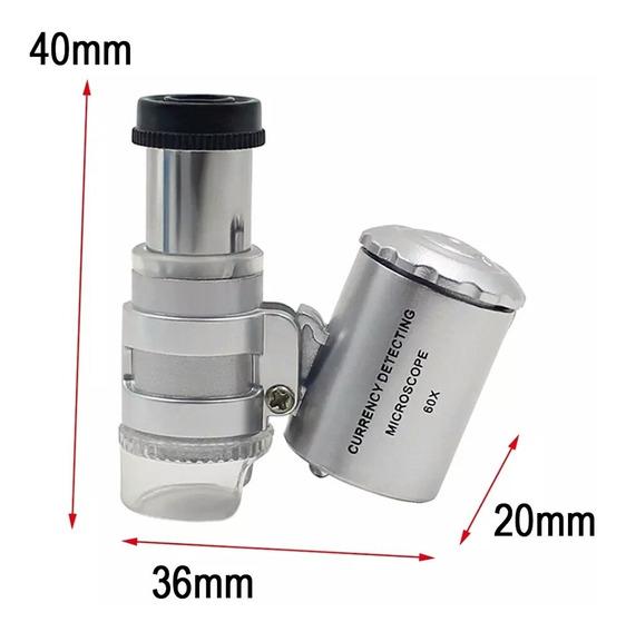 Mini Microscópio Lupa