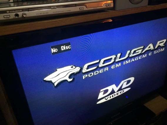 Dvd Player Cougar Cvd-630 + Controle Funcionando Garantia !