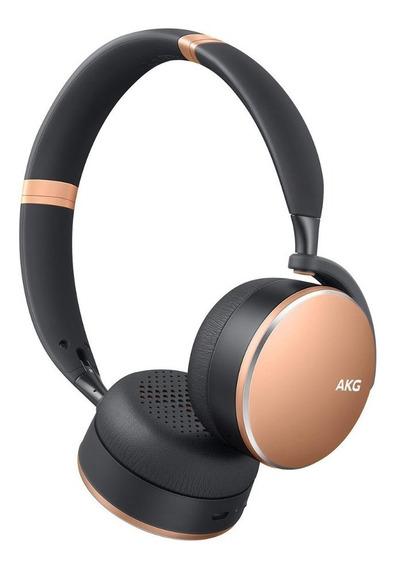 Fone Bluetooth Original Samsung On Ear Akg Y500 Dourado