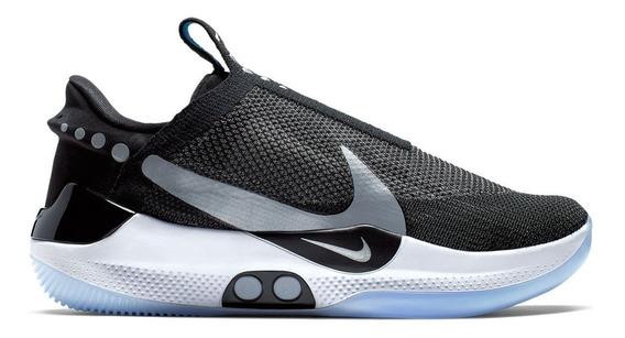Nike Adapt Bb Black Pure Platinum 29.5mx Nuevos Originales