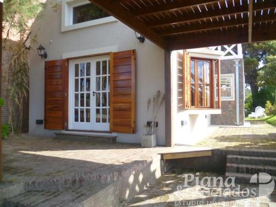 Casa En Zona Mar De Ostende Zona Familiar Tranquila Y Arbolada-300 Mts De Playa-vista Al Mar-