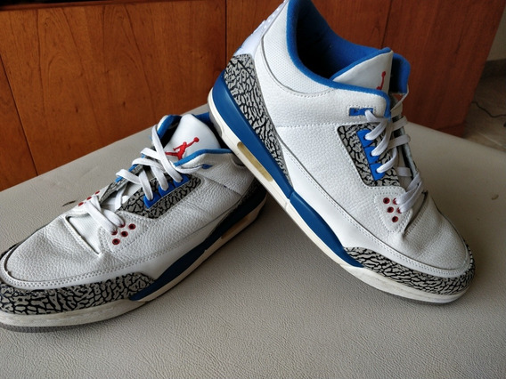 Nike Air Jordan Retro 3 True Blue
