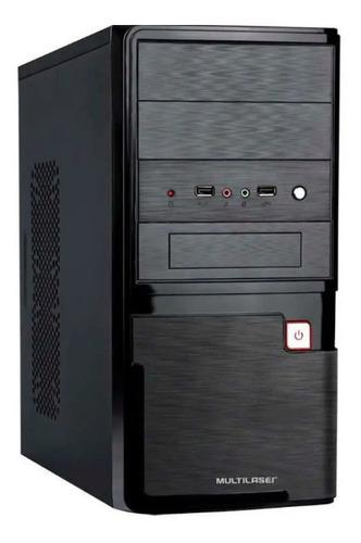 Imagem 1 de 4 de Computador Multilaser Intel Celeron 4gb Ram 500gb Hd Linux P