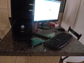 Computador Com 4 Gba E Tv De 24 Pl E Com 2 Gravador De Cd E