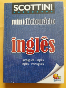 Mini Dicionário Inglês - Scottini