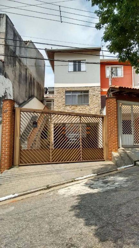 Belo Sobrado Residencial Para Venda E Locação, Vila Pereira Barreto, São Paulo. - So0373
