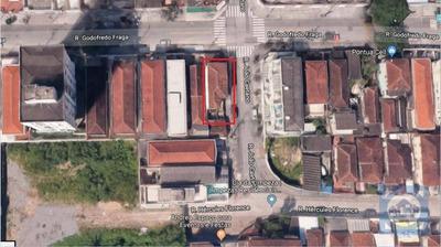 Terreno À Venda, 180 M² Por R$ 585.000 - Marapé - Santos/sp - Te0027
