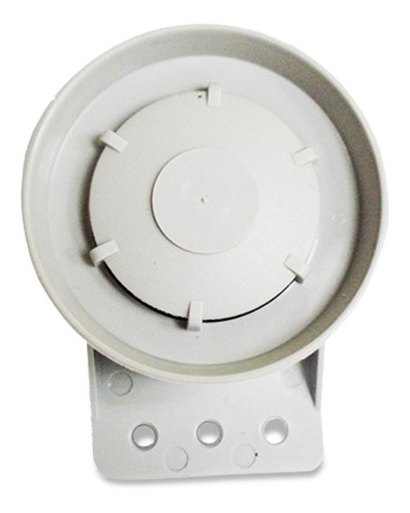 Sirene Piezoelétrica Bopo Universal Alarme E Cerca Elétrica