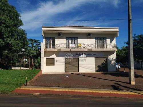 Imagem 1 de 21 de Sobrado Com Sala Comercial  À Venda,  Por R$ 900.000 - Jardim Guarapuava - Foz Do Iguaçu/pr - So0044