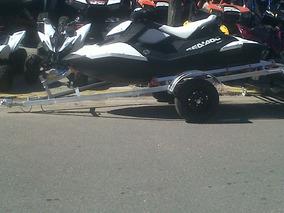 Trailer Moto De Agua Con Rolos. Galvanizado En Caliente