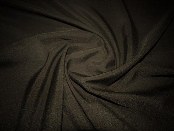Tecido Oxfordine Unif. Camisa, Jalecos 5m Preto Liso