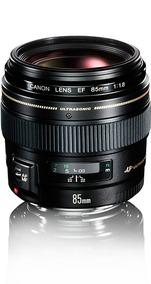 Lente Canon 85mm F/1.8 Usm Profissional - Semi Nova