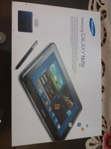 Samsung Tablet Note 10.1, 16 Gb De Memória E Celular