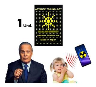 Chip Adesivo Neutralizador De Poluição Eletromagnética
