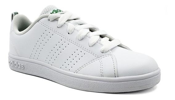 adidas Advantage Blanco-verde Juvenil Aw4884