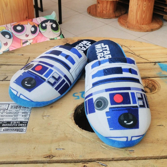 Chinelo Star Wars R2d2 Original